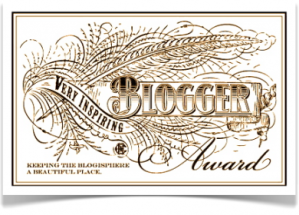 Thank you Ronovan from ronovanwrites.wordpress.com for nominating me.  Such an honor!  Also thank you Michelle from pretendtobenice.com.