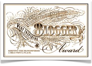 VeryInspiringBlogAward