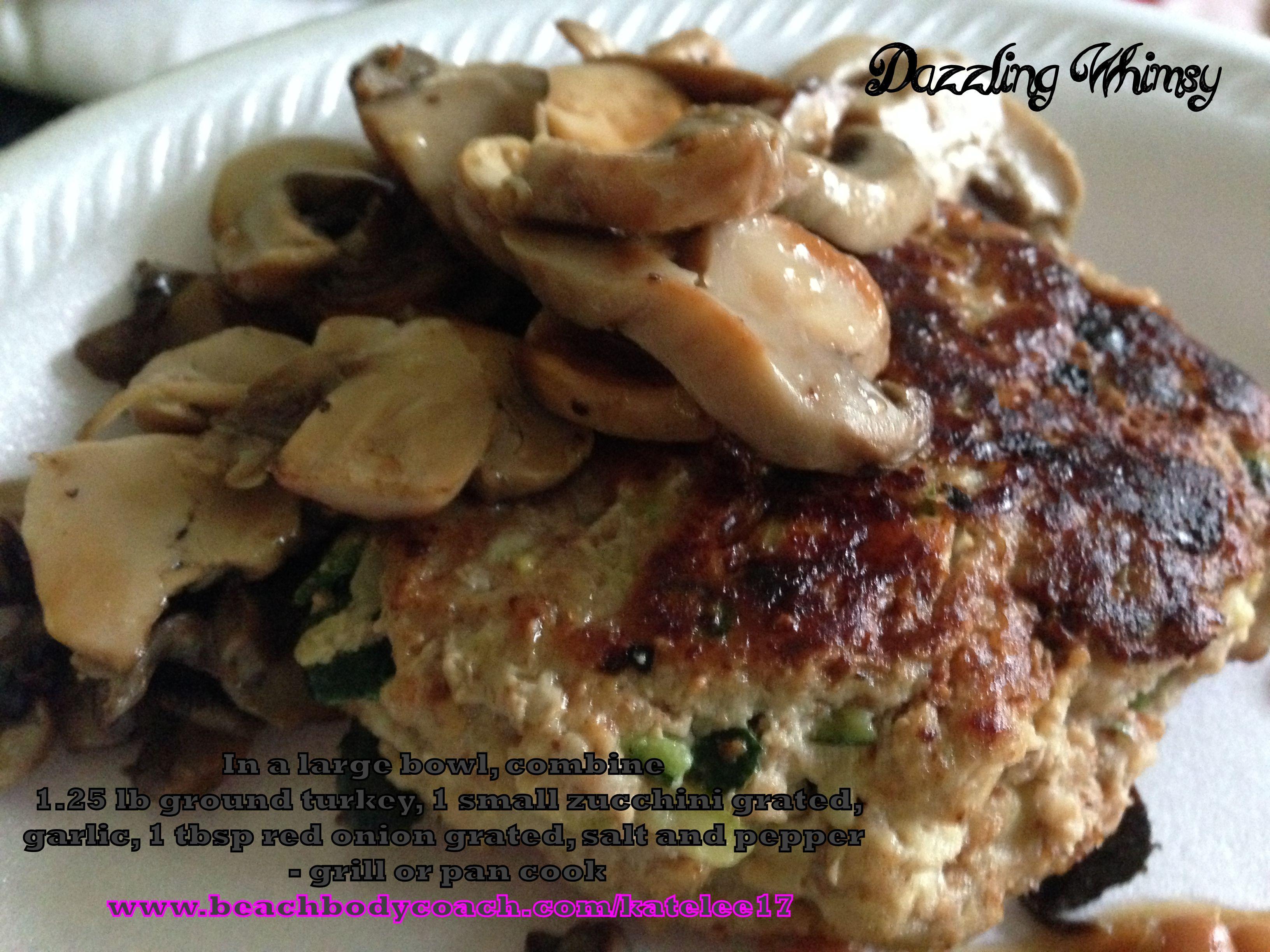Zucchini Turkey Burgers? | Dazzling Whimsy